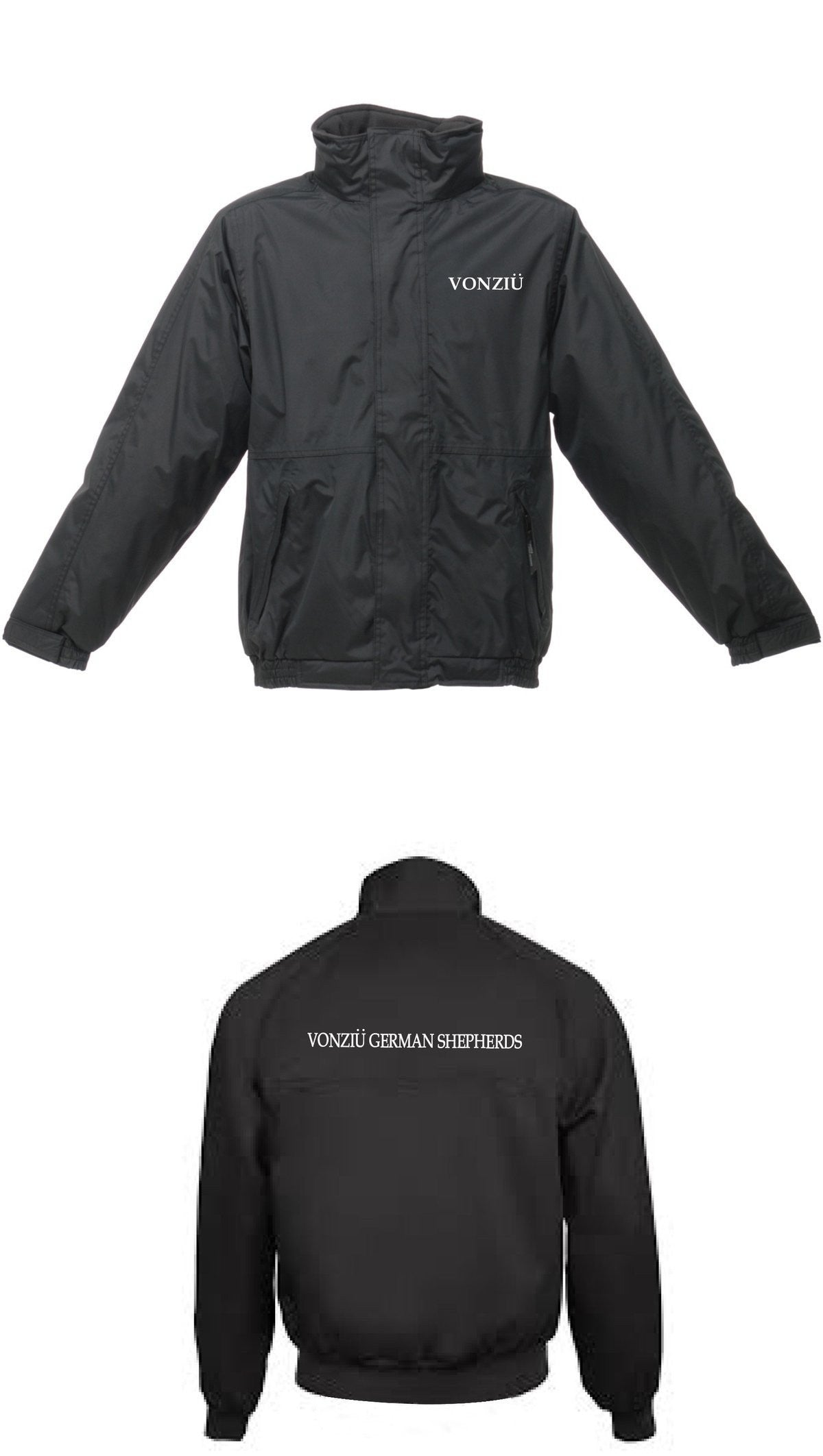 Regatta Junior Dover Winter Jacket in Black
