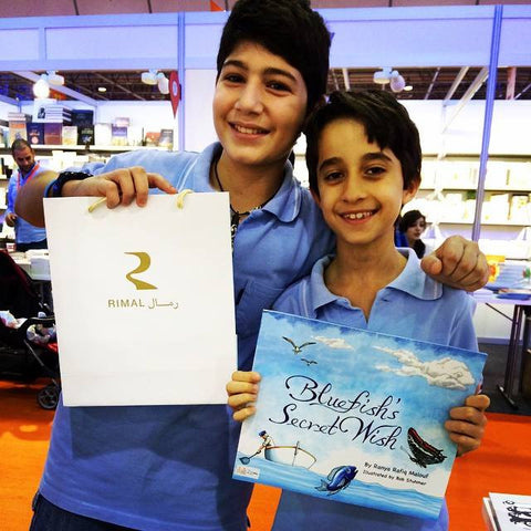 Blue Fish Sharjah Children Books Awar