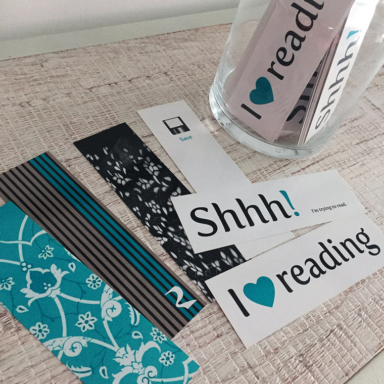 Bookmarks Set - 'I Heart Reading'