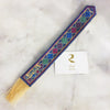 Hand Embroidered Bookmark - Baker's Wife