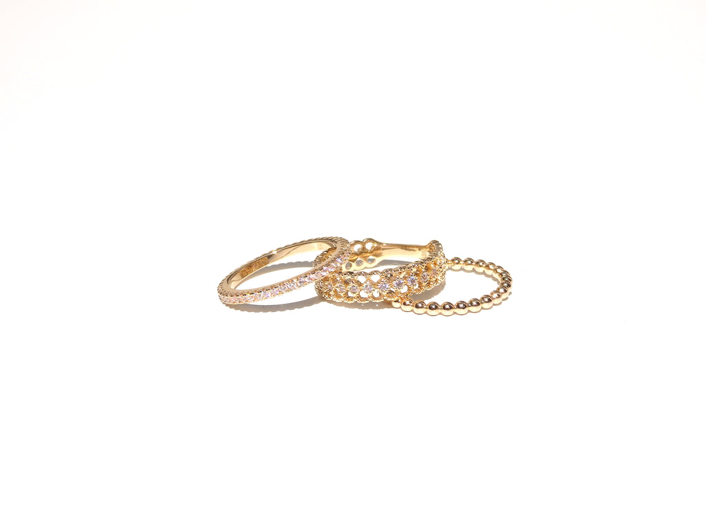 Bague Set Sunshine