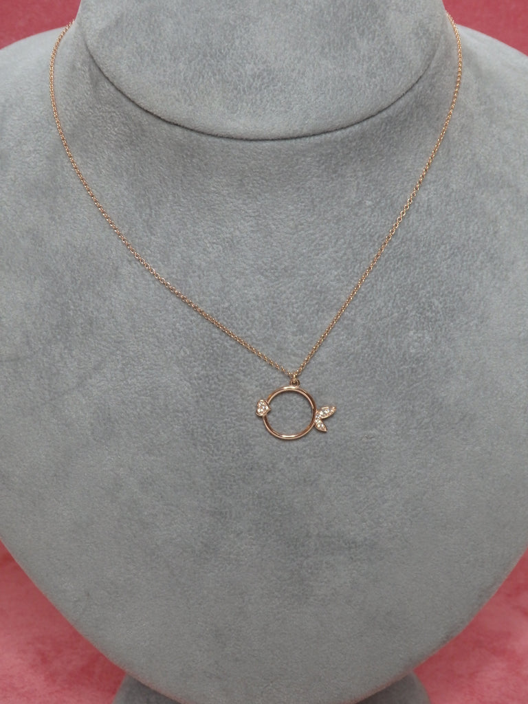 Collier Roméo & Juliette Fish rose