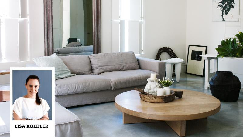 Lisa's coffee table styling tips