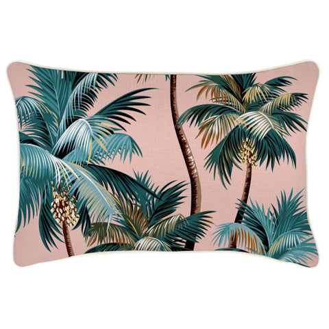 Flat Pencil Case-Aloha Peach