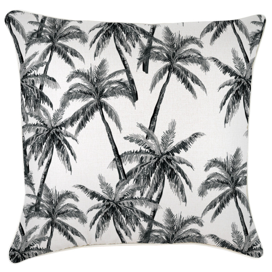 Cushion Cover-With Natural Piping-Castaway-60cm x 60cm
