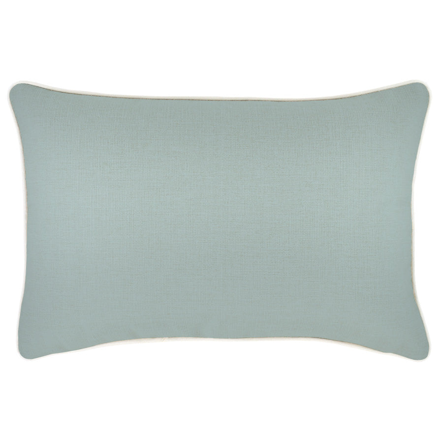 Cushion Cover-With Piping-Seafoam-35cm x 50cm