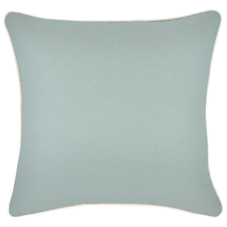 Cushion Cover-With Piping-Seafoam-45cm x 45cm