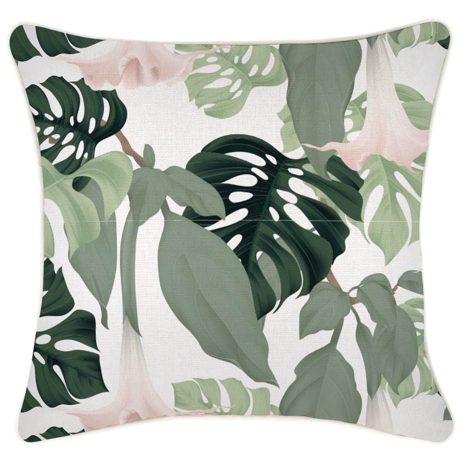 Indoor Outdoor Cushion Cover-With Piping-Hanoi-45cm x 45cm