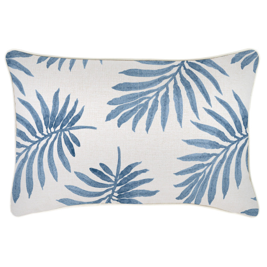 Indoor Outdoor Cushion Cover-With Piping-Koh Samui-35cm x 50cm