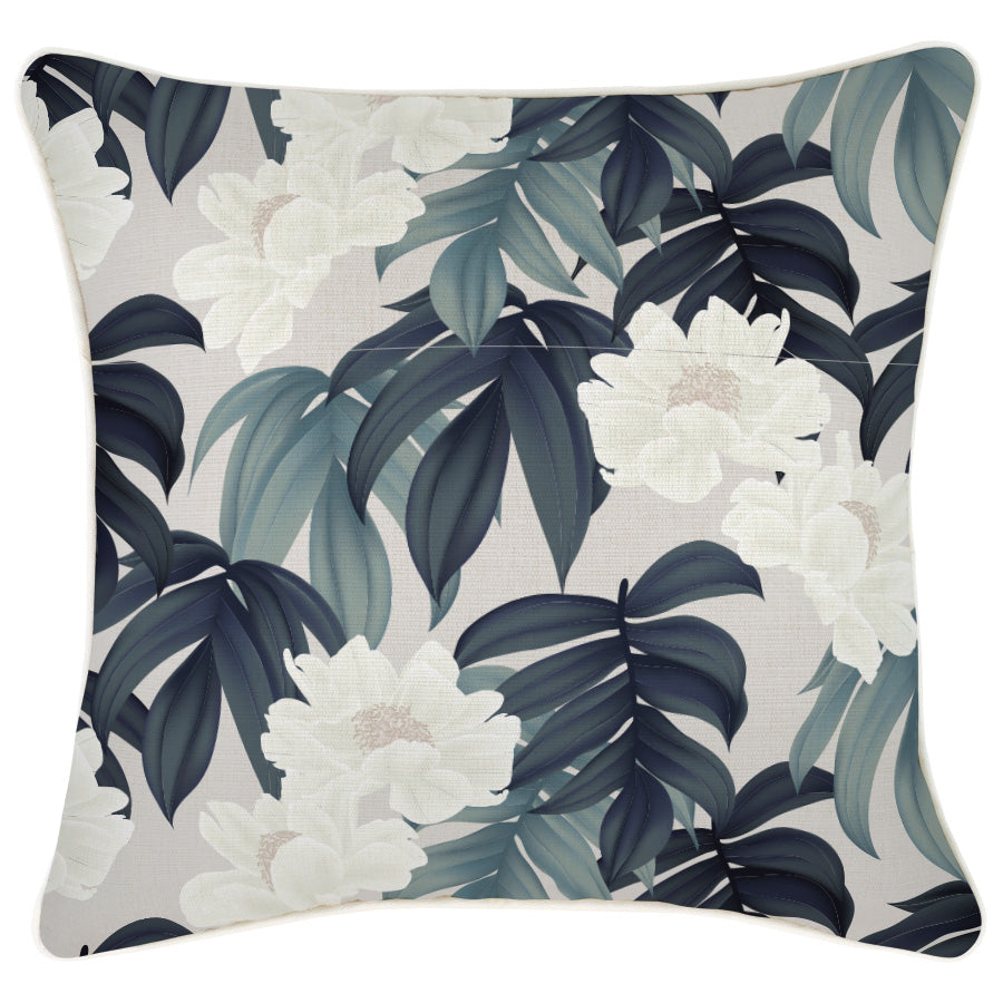 Indoor Outdoor Cushion Cover-With Piping-Moonlight-45cm x 45cm