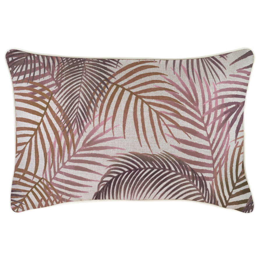 Cushion Cover-With Piping-Seminyak Rose-35cm x 50cm