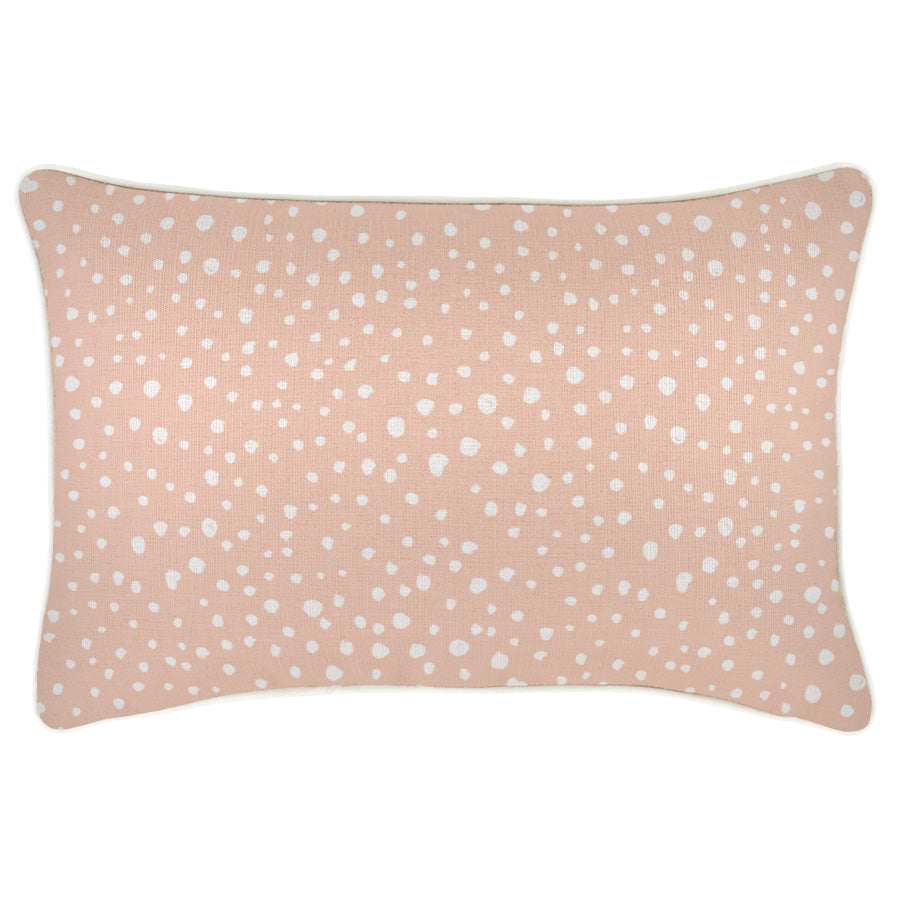 Cushion Cover-With Piping-Lunar Blush-35cm x 50cm