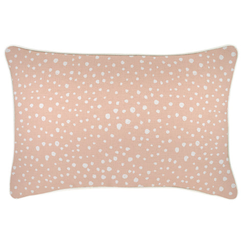 Active Crop-Longline-Blush Dot-Small
