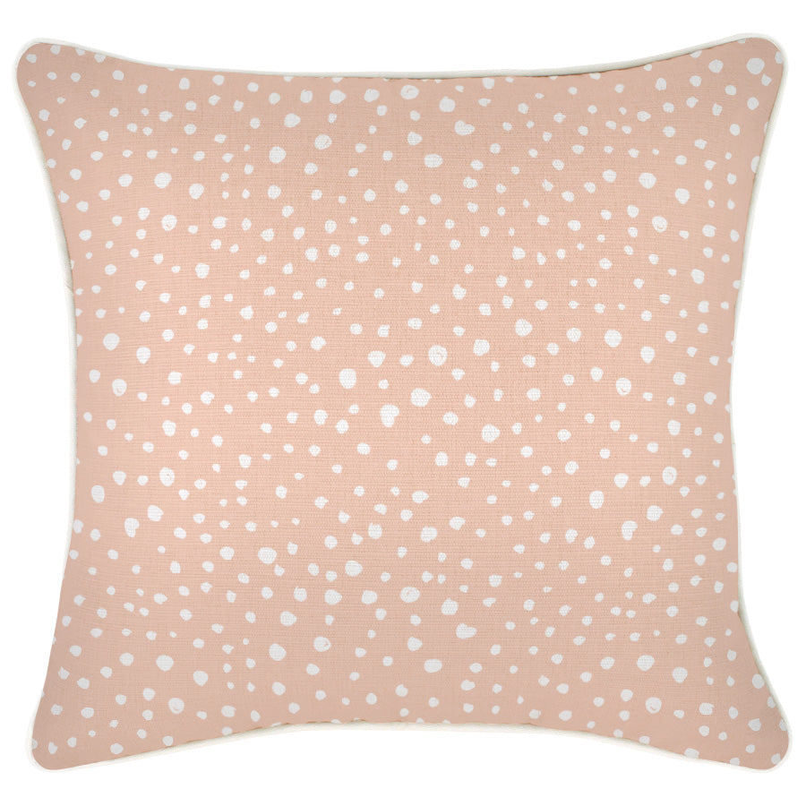 Cushion Cover-With Piping-Lunar Blush-45cm x 45cm