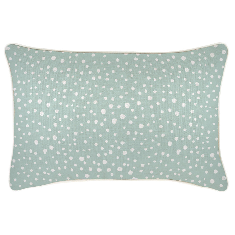 Cushion Cover-With Piping-Lunar Pale Mint-35cm x 50cm