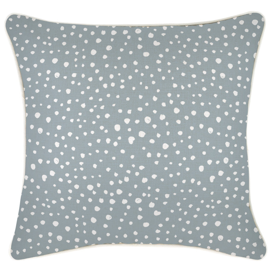Cushion Cover-With Piping-Lunar Smoke-45cm x 45cm