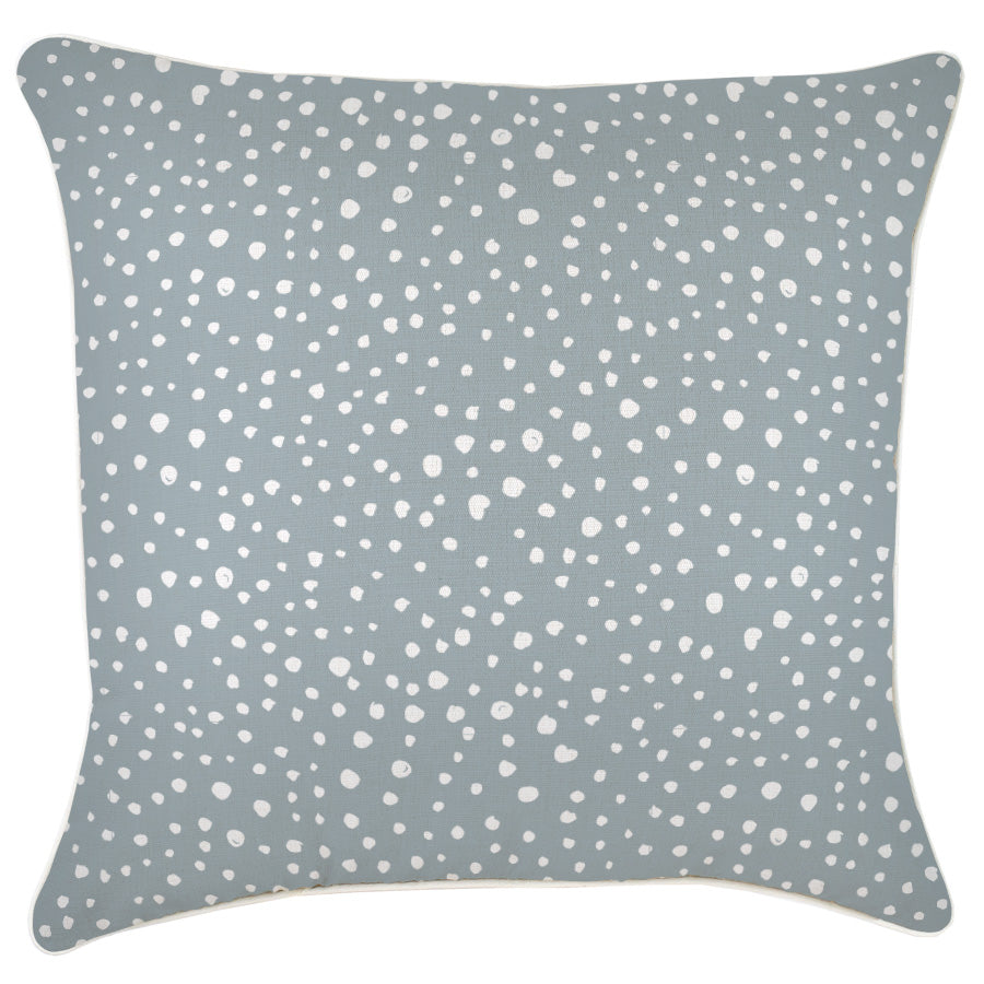 Cushion Cover-With Piping-Lunar Smoke-60cm x 60cm