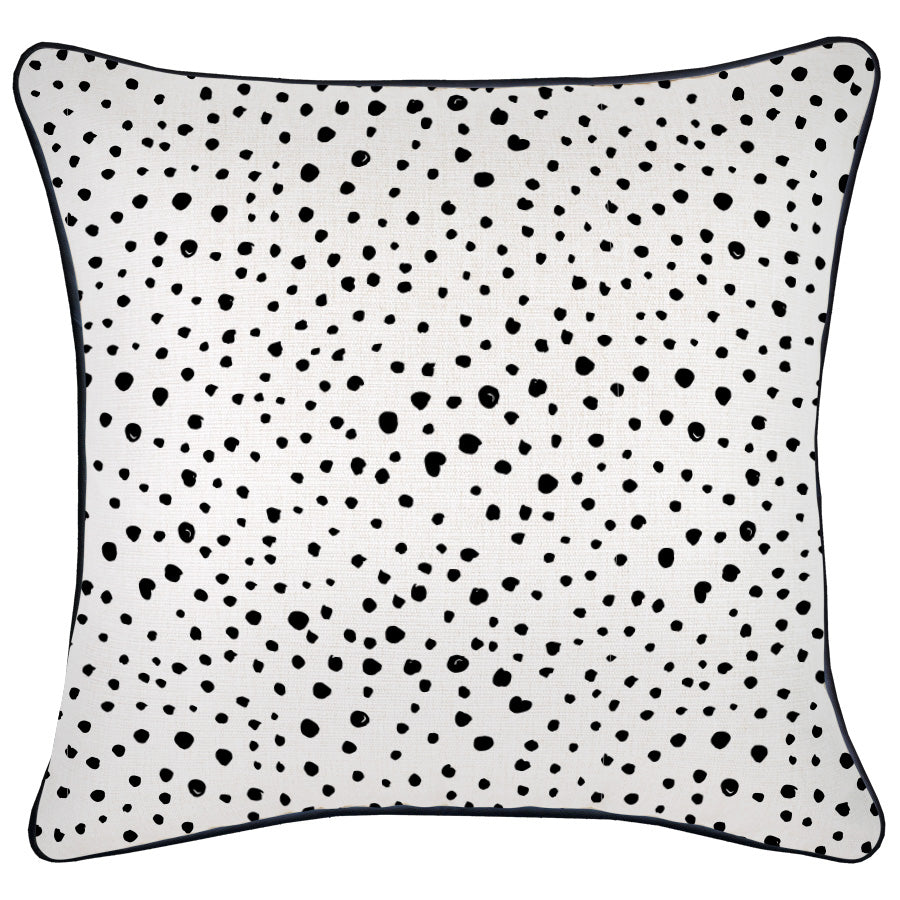 Cushion Cover-With Black Piping-Lunar-60cm x 60cm