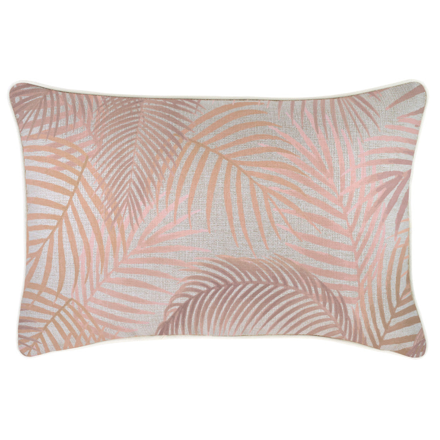 Cushion Cover-With Piping-Seminyak Blush-35cm x 50cm