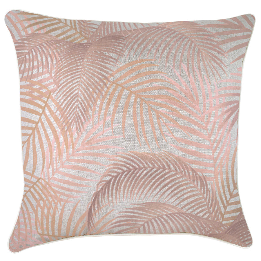 Cushion Cover-With Piping-Seminyak Blush-60cm x 60cm