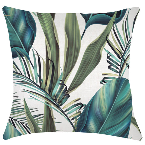 Cushion Cover-With Piping- Tradewinds Natural -45cm x 45cm