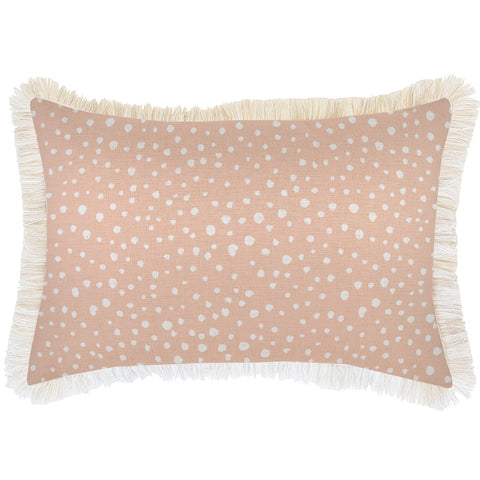 Cushion Cover-Coastal Fringe-Lunar Pale Mint-60cm x 60cm