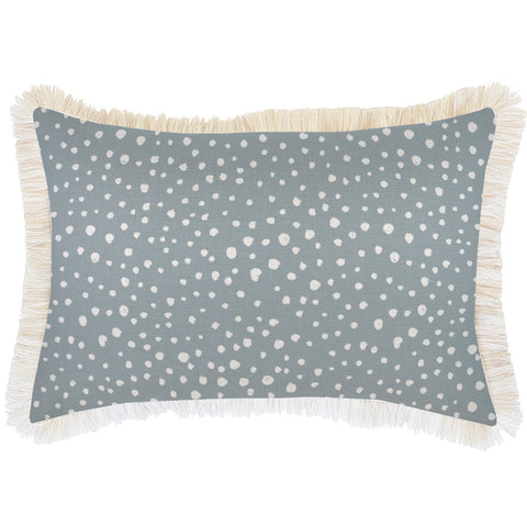 Cushion Cover-With Piping-Lunar Pale Mint-45cm x 45cm