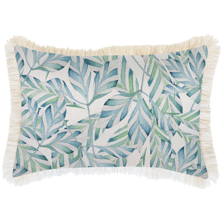 Cushion Cover-Coastal Fringe Natural-Sunday-35cm x 50cm