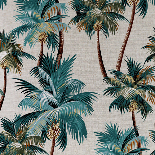 Beach Bag Large-Palm Trees Natural-60cm x 50cm