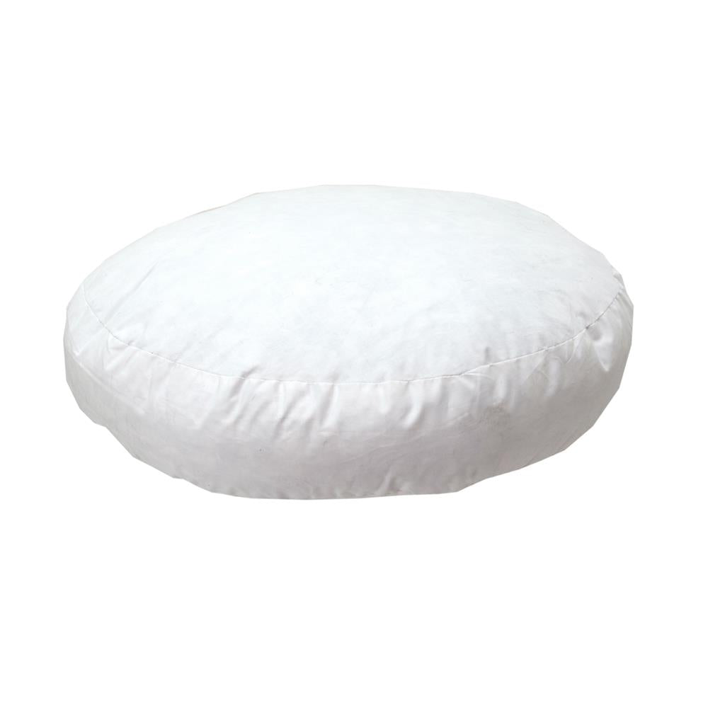 Poly Cushion Insert-Round Gusseted 40cm x 40cm x 5cm