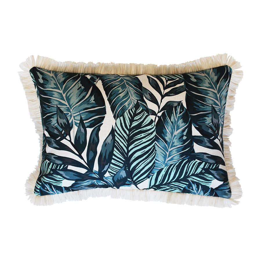 Cushion Cover-Coastal Fringe Natural-Atoll-35cm x 50cm