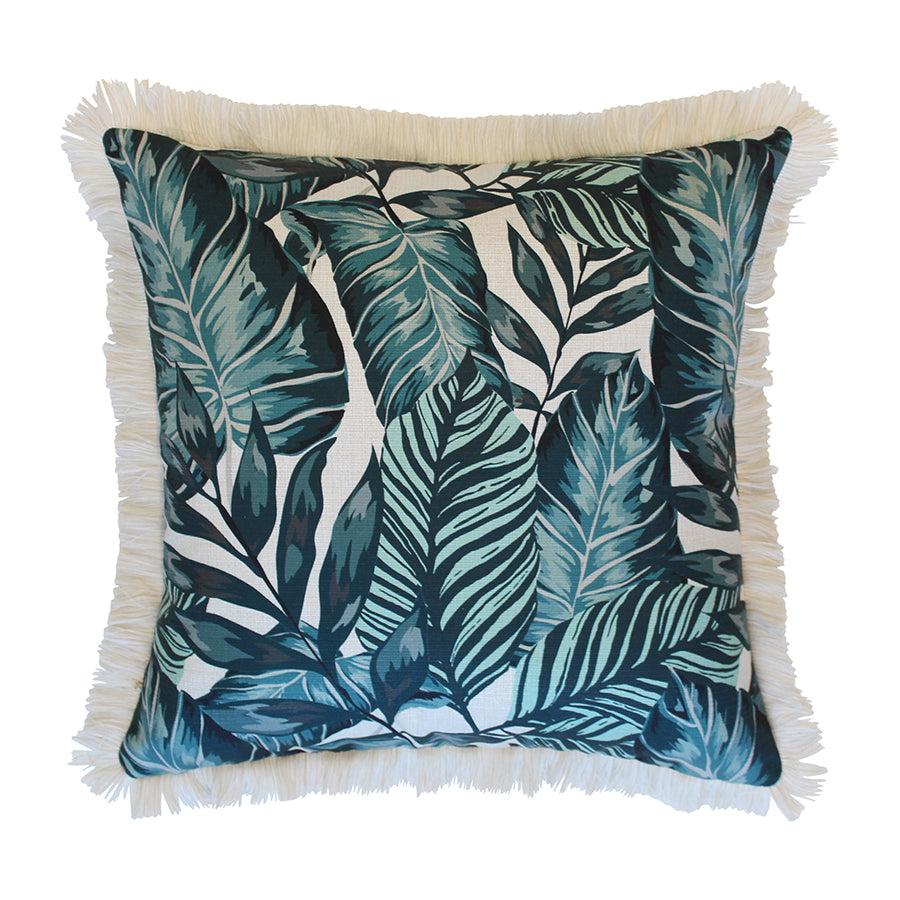 Cushion Cover-Coastal Fringe Natural-Atoll-45cm x 45cm