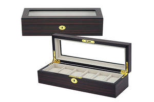 Watch and jewelry cases