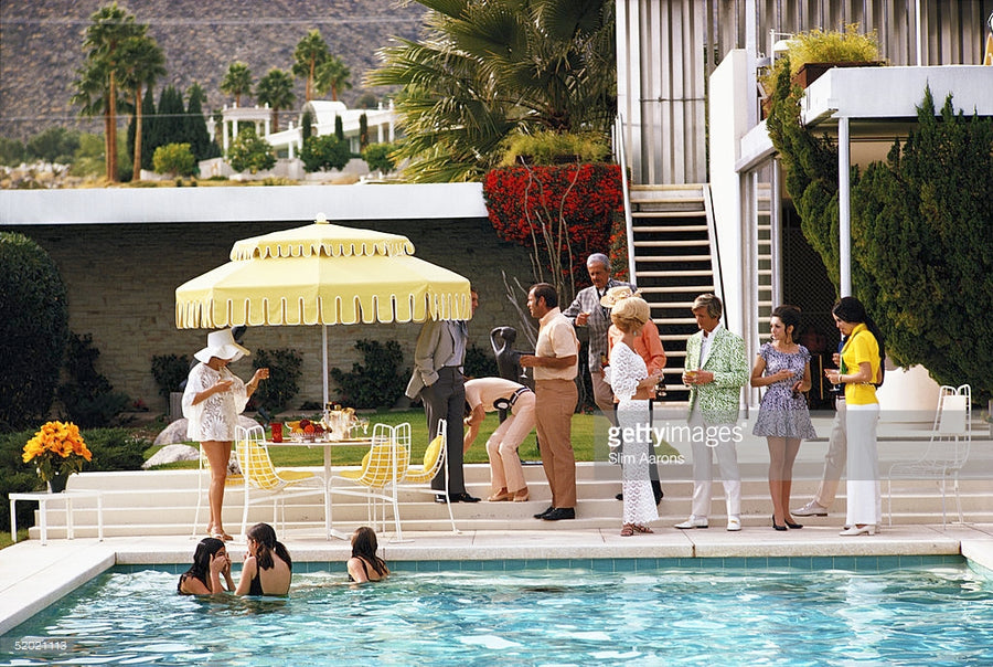 In Partnership with the Getty Images Gallery and Slim Aarons Archive