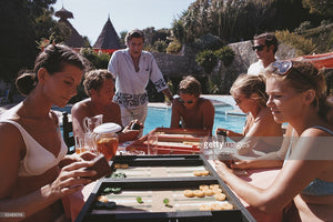 Backgammon Players - Slim Aarons - Another Dandy