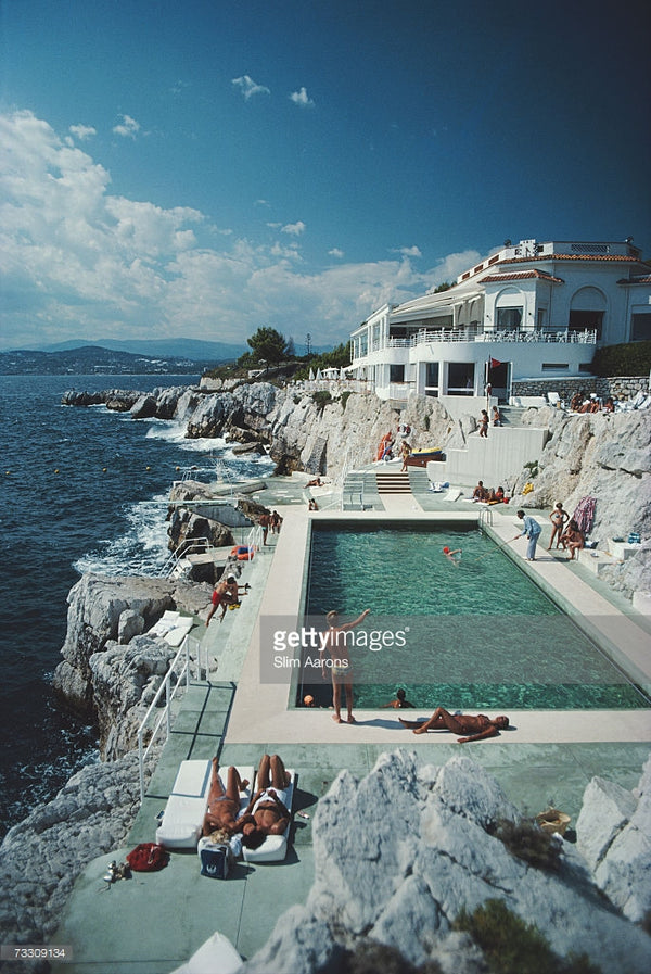 Eden-Roc Pool - Slim Aarons - Another Dandy