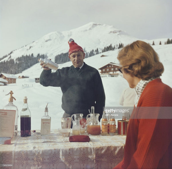 Lech Ice Bar - Slim Aarons - Another Dandy