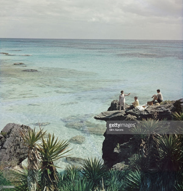 A Nice Spot For Lunch - Slim Aarons - Another Dandy