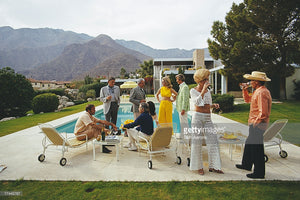 Desert House Party - Slim Aarons - Another Dandy