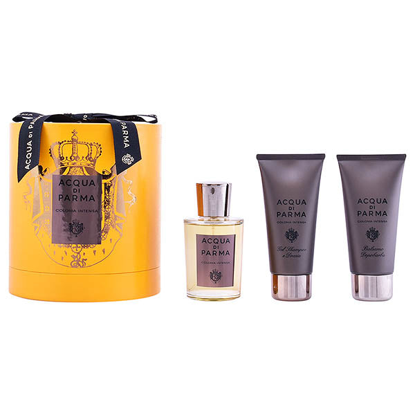 Men's Perfume Set Colonia Intensa Acqua Di Parma (3 pcs)