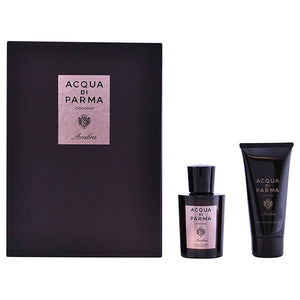 Men's Perfume Set Colonia Ambra Acqua Di Parma (2 pcs)