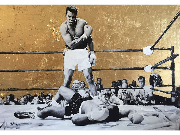 Muhammad Ali vs Sonny Liston - Albin Albinini - Another Dandy