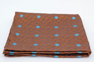 Pocket Square - Orange/Blue - Another Dandy