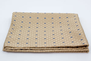 Pocket Square - Gold/Blue