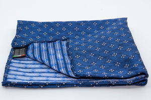 Pocket Square - Floral/Blue - Another Dandy