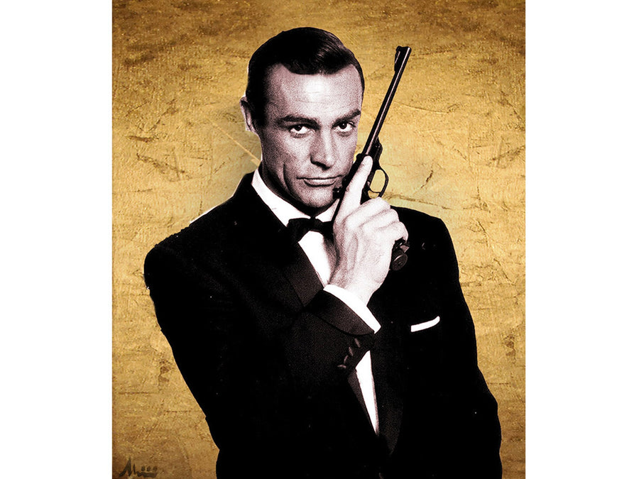 Sean Connery as James Bond - Albin Albinini