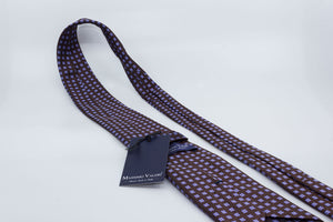 3-Fold Tie - Chocolate/Purple