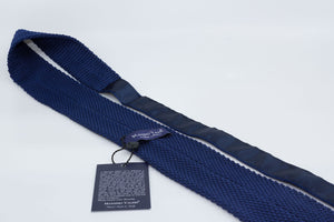 Tricot Tie - Blue/White - Another Dandy