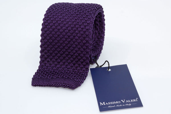 Tricot Tie - Purple - Another Dandy