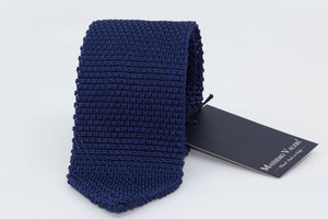Tricot Tie - Blue - Smaller Mesh